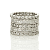 Signatature Pavé 5-Stack Ring