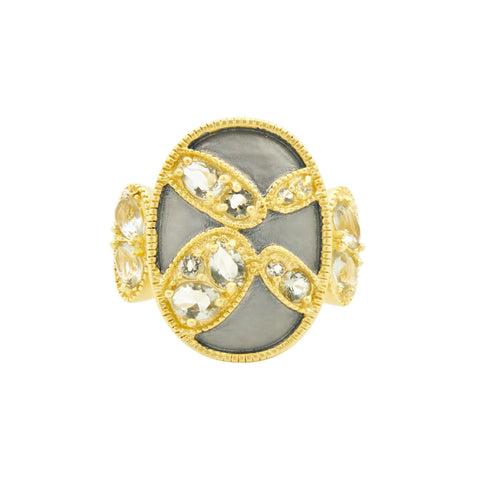 Rose D'or Cocktail Ring - FREIDA ROTHMAN