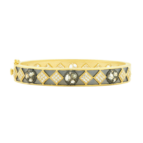 Rose D'or Hinge Bangle - FREIDA ROTHMAN