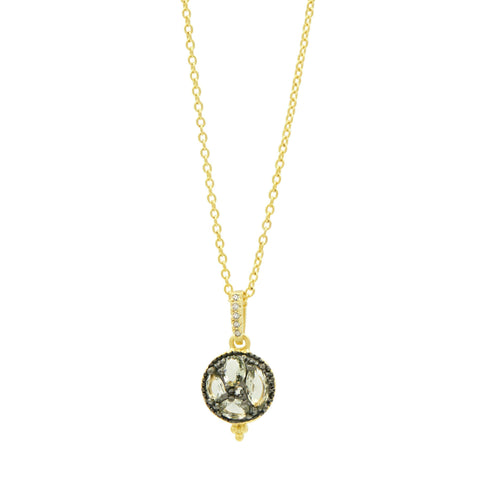 Rose D'or Small Pendant Necklace - FREIDA ROTHMAN