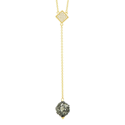 Rose D'or Y Necklace - FREIDA ROTHMAN