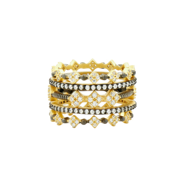 Rose D'or 5-Stack Ring