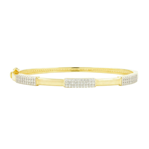 Radiance Thin Hinge Bangle - FREIDA ROTHMAN