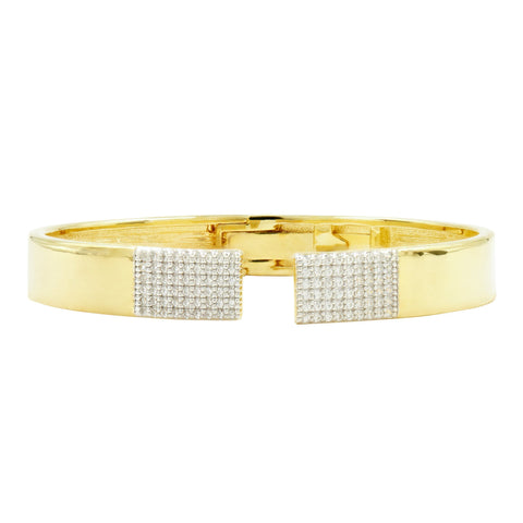 Radiance Open Cuff Bangle - FREIDA ROTHMAN