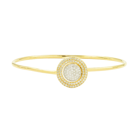 Radiance Pavé Slide-on Bangle