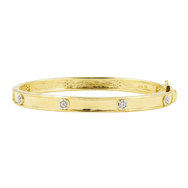 Your Shining Moment Hinge Bangle
