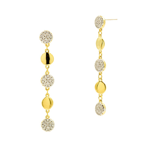 Radiance Linear Drop Earrings