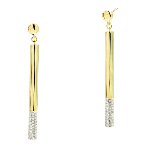 Radiance Matchstick Earring