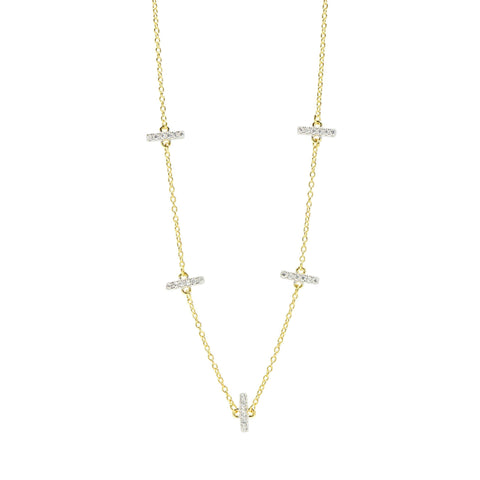 Radiance Station Short Chain Necklace - FREIDA ROTHMAN