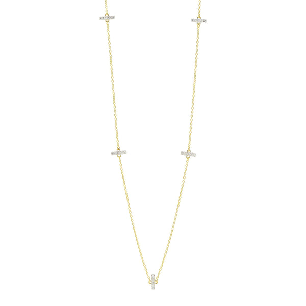 "Radiance 40"" Station Necklace - FREIDA ROTHMAN"