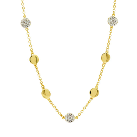 "Radiance 16"" Station Necklace"
