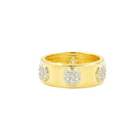 Radiance Wide Band Ring
