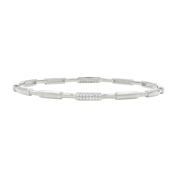 Radiance Single Slide Bangle - FREIDA ROTHMAN