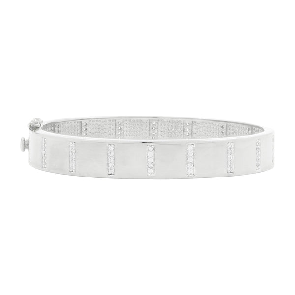 Radiance Wide Hinge Bangle - FREIDA ROTHMAN