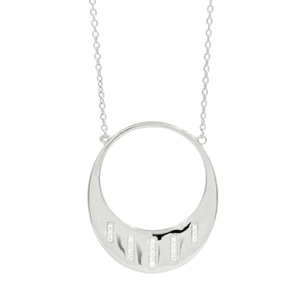 Radiance Open Pendant Necklace - FREIDA ROTHMAN