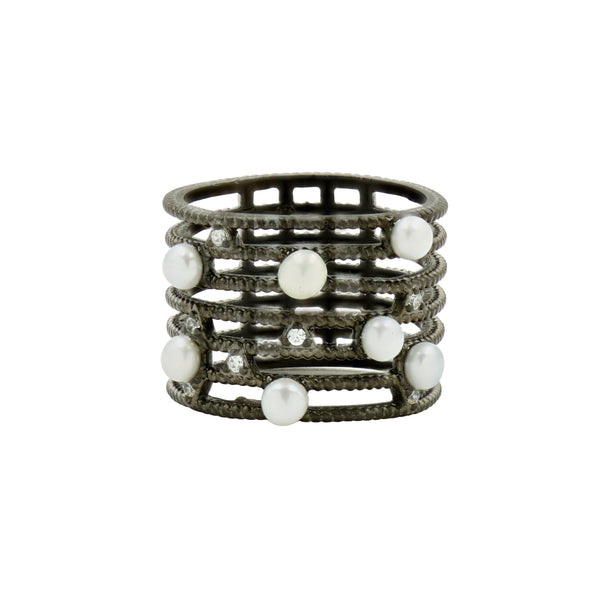 Industrial Finish Caged Ring