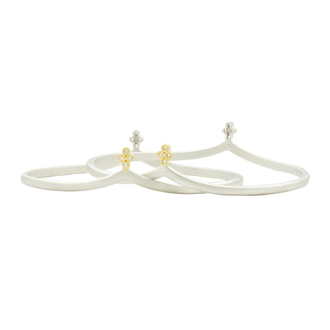 Fleur Bloom 2-Stack Bangle Set