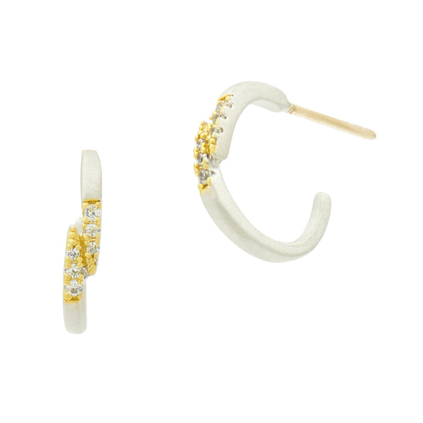 Fleur Bloom Small Hoop Earrings