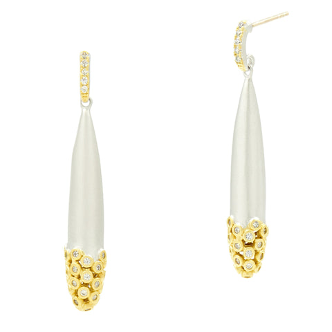 Fleur Bloom Drop Earrings