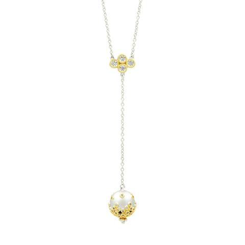 Fleur Bloom Y-Neck Necklace