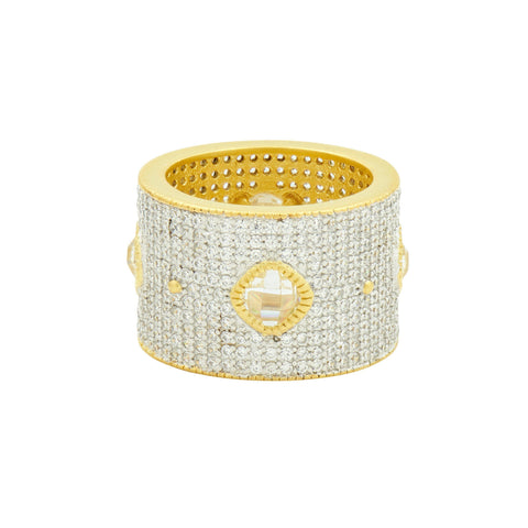 Visionary Fusion Brilliant Pavé Cigar Band - FREIDA ROTHMAN