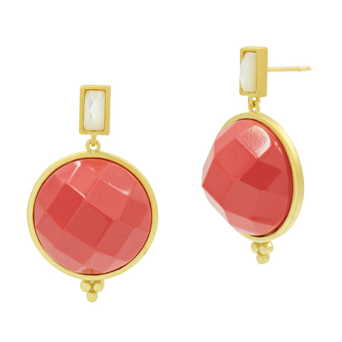 Candy Drop Faceted Earring