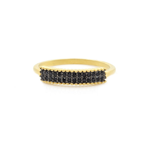 Pavé Thin Marquee Ring