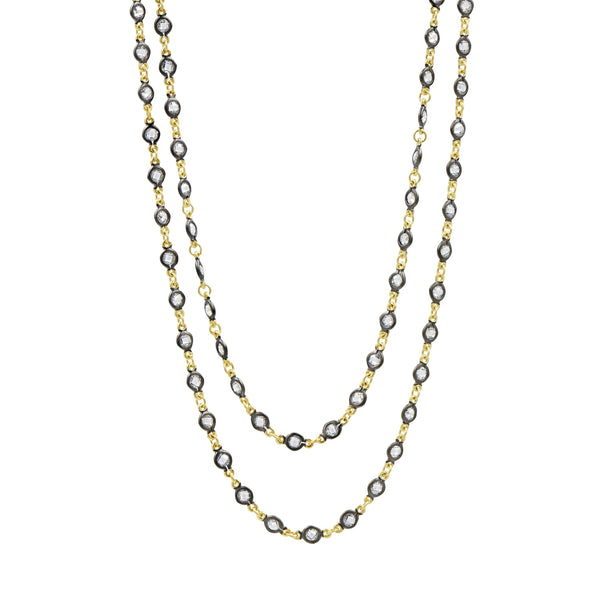 Embellished Wrap Chain Necklace