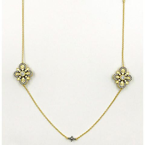 Long Station Necklace