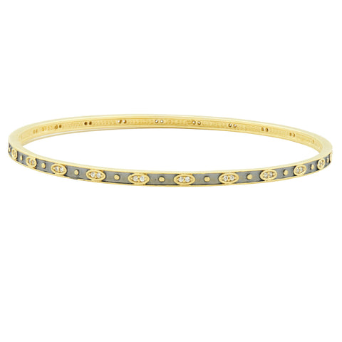 Signature Single Slide Bangle - FREIDA ROTHMAN