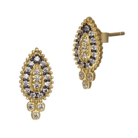 Paisley Stud Earrings - FREIDA ROTHMAN