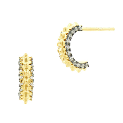 Round Post Earrings - FREIDA ROTHMAN