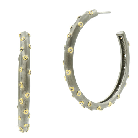 Chunky C-Hoop Earrings