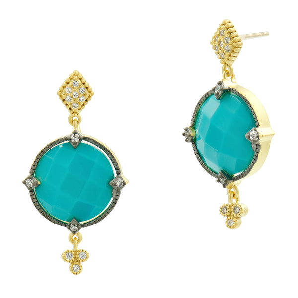 Color Theory Stone Drop Earring