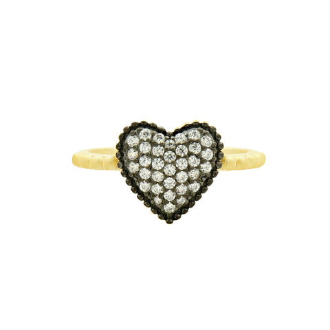 From the Heart Pavé Ring
