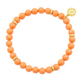 Matte Bead Stretch Bracelet