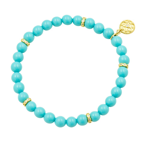 Color Theory Matte Bead Stretch Bracelet