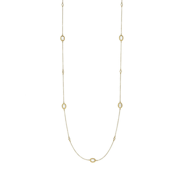 Signature Raindrop Station Necklace - FREIDA ROTHMAN
