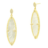 Marquise Stone Drop Earring