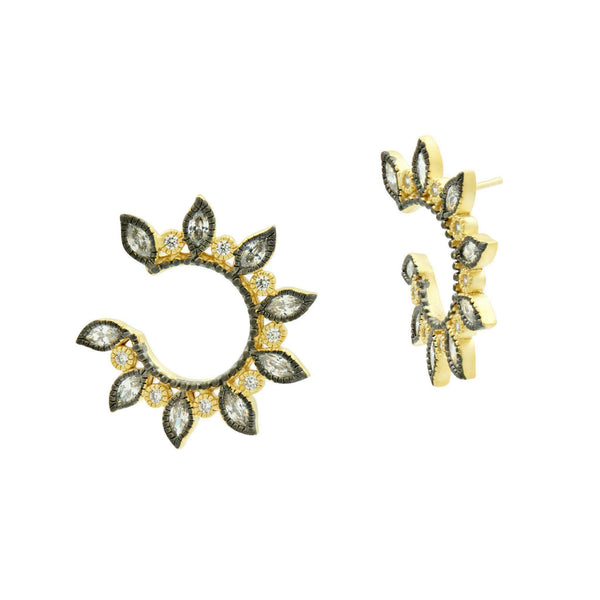 EARRING - Fleur Bloom Petal Solar Earrings