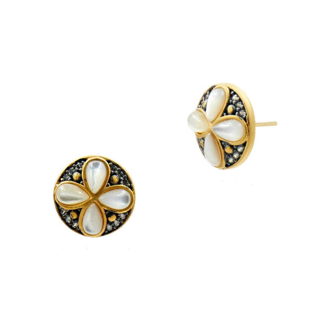 EARRING - Fleur Bloom Petal Stud Earrings