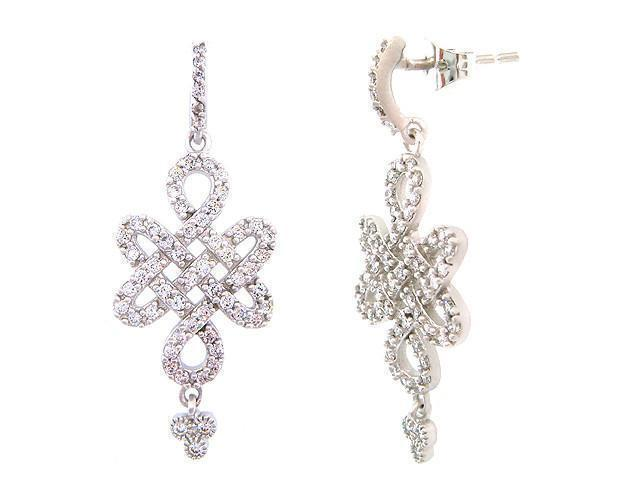 EARRING - Small Love Knot Drop Earrings