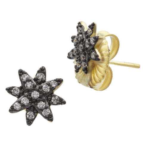 Starburst Stud Earrings - FREIDA ROTHMAN
