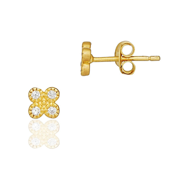 a82a6275b Tiny Clover Stud Earring | Latest Collection of EARRINGS FOR WOMEN ...