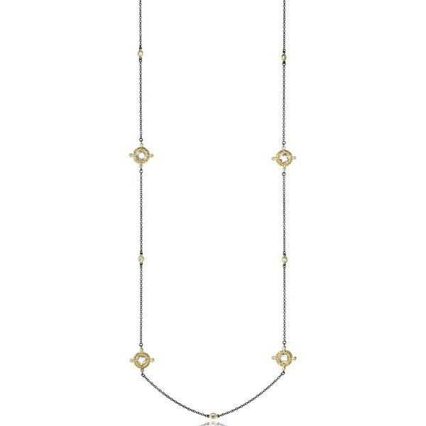 Crown Station Necklace - FREIDA ROTHMAN