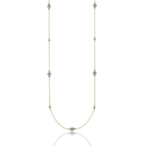 Signature Four Point Station Necklace - FREIDA ROTHMAN