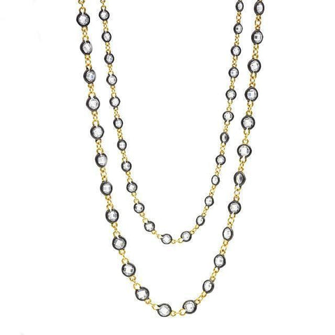 Signature Radiance Wrap Necklace - FREIDA ROTHMAN
