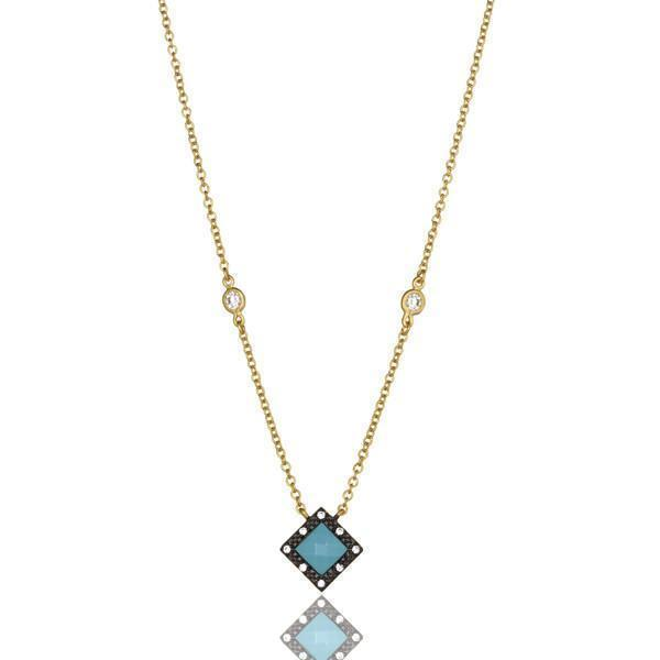 NECKLACE - Turquoise Harlequin Necklace