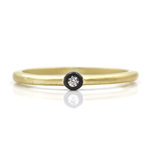 FR Simple Bezel Ring - FREIDA ROTHMAN