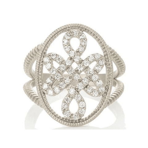 Signet Love Knot Ring